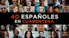 UEtv estrena en Telemadrid el documental '40 españoles en cuarentena'
