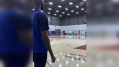 El infalible Ricky Rubio sigue en modo anotador con los Cavaliers