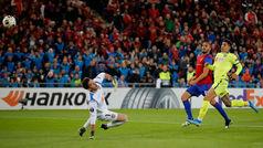 Europa League (Grupo C): Resumen y goles del Basilea 2-1 Getafe