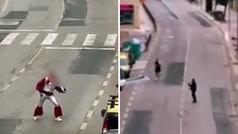 La Guardia Civil denuncia a dos hermanos que animaban bailando disfrazados a sus vecinos