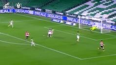 Así fue el gol de Raúl García en el minuto 94 para salvar al Athletic