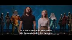 Jason Momoa, protagonista de Aquaman, manda un saludo en exclusiva a los lectores de MARCA.com