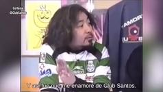 Santos presume a aficionado en Asia