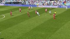 Gol de Oro (J33). Gol de Boufal (2-1) en el Celta 2-1 Girona