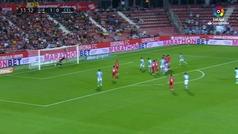 Gol de Iago Aspas (1-1) en el Girona 3-2 Celta