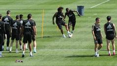 Así fue el último día de trabajo del Real Madrid en Montreal con la vuelta de Ramos al grupo