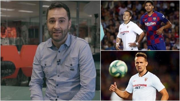 """""""El inadaptado De Jong y los méritos de Chicharito para ser titular con el Sevilla"""""""