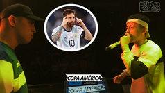 """La Copa América, en una batalla de 'gallos': """"Soy Messi con Argentina, el mejor con todo el peso encima"""""""