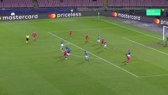 Gol de El Fardou Ben (3-1) en el Nápoles 3-1 Estrella Roja