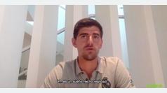 """Courtois: """"Llevar la camiseta del Real Madrid es un sueño hecho realidad"""""""