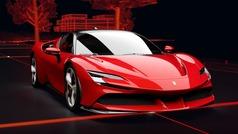 Así es el sistema híbrido del Ferrari SF90 Stradale
