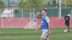 El Mallorca B se entrena al ritmo de Steve Nash