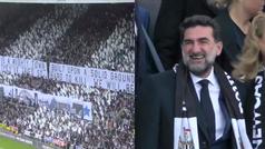 El genial recibimiento de los fans del Newcastle a su nuevo presidente: su reacción lo dice todo