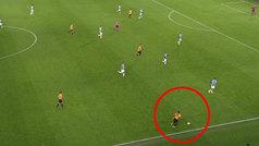 La arrancada de Adama Traoré en el 2-0 de los Wolves al Espanyol