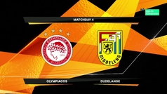 Europa League (J4): Resumen y goles del Olympiacos 5-1 Dudelange