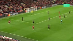 Gol de Salah (3-0) en el Liverpool 4-3 Salzburgo
