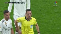 Thomas fue expulsado por doble amarilla tras un feo pisotón a Kroos
