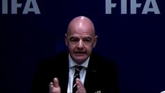 """Infantino defiende el VAR: """"Ha hecho el fútbol más justo"""""""