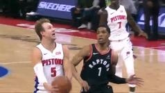 Pistons 110-107 Raptors