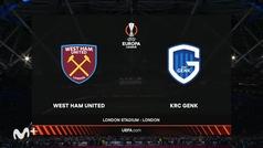 Europa League (J3): Resumen y goles del West Ham 3-0 Genk