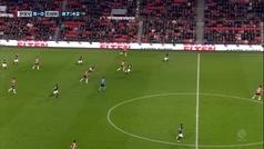 Hirving 'Chucky' Lozano anota su octavo gol de la temporada con el PSV