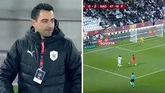 Xavi gana la Copa de Qatar metiendo un 0-4 al equipo de Mandzukic y Rui Faria