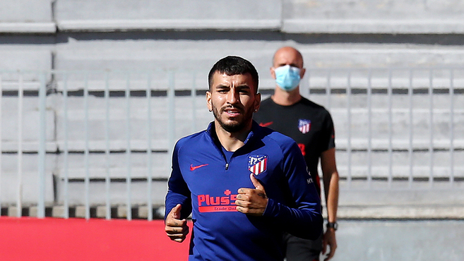 Atletico Madrid: Correa steps up recovery from muscle injury