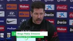 """Simeone: """"Como no soy español, mis palabras se pueden confundir"""""""