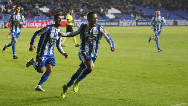 LaLiga 123 (J18): Resumen y goles del Deportivo 3-1 Zaragoza