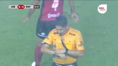 El duelo entre León y Lobos se detuvo a los 71 minutos tras una tormenta