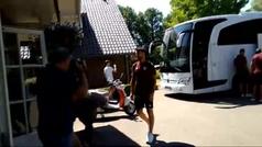 El Athletic ya están en los Paises Bajos