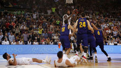Final ACB. Resumen: Barcelona 78-77 Real Madrid
