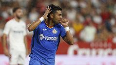 LaLiga (J4): Resumen y goles del Sevilla 0-2 Getafe