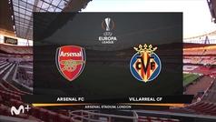 Uefa Europa League (vuelta semifinales): Resumen y jugadas más destacadas del Arsenal 0-0 Villarreal