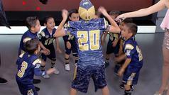 El 'haka' más tierno para celebrar el Día del Niño