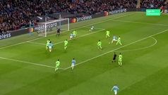 Gol de Foden (6-0) en el Manchester City 7-0 Schalke 04
