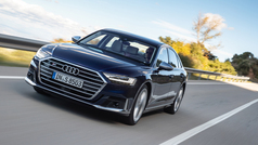Al volante del Audi S8