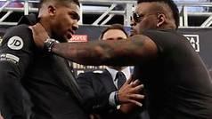 """Jarrell Miller vs Anthony Joshua: presentación con trifulca e insultos: """"¡Tío Tom!"""""""