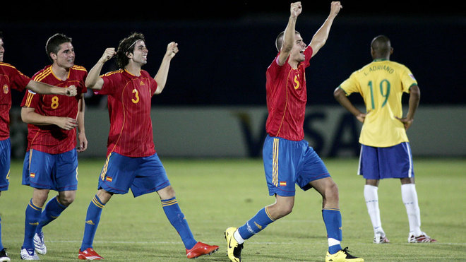 Gerard Piqué se despide de la selección de España