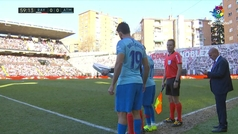 Diego Costa vuelve a la Liga...ovacionado por Vallecas