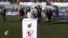 Copa del Rey (segunda ronda): Resumen y goles del Ceuta 0-4 Real Sociedad