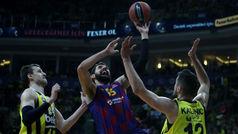 Euroliga. Resumen: Fenerbahce 74-80 Barcelona