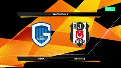 Europa League (J4): Resumen y goles del Genk 1-1 Besiktas