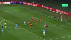 Gol de Mahrez (0-1) en el Shakhtar Donetsk 0-3 Manchester City