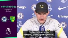 """Tuchel: """"Lukaku estará fuera mínimo los dos próximos partidos"""""""
