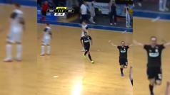 El taconazo a lo Cristiano en la Liga rusa de fútbol sala