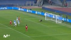 Gol de Musiala (0-2) en el Lazio 1-4 Bayern