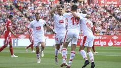 LaLiga (J8): Resumen y goles del Girona 2-3 Eibar