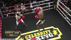 Lamar Odom se lleva por KO el combate más desigual y surrealista