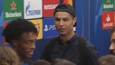 "Cristiano Ronaldo explica su gesto: ""Aprender, tenéis que aprender"""
